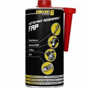 Flacon de nettoyant régénérant FAP Injexion 5 - Diesel, 1 L