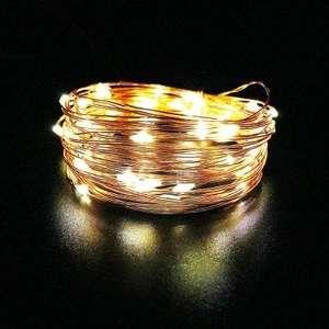 Guirlande lumineuse d'extérieur - plusieurs coloris, 50 LED, 5m