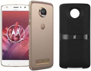 "Smartphone 5.5"" Motorola Moto Z2 Play Or - Full HD, Snapdragon 626, RAM 4 Go, ROM 64 Go + Enceinte JBL Soundboost 2"