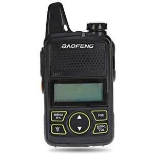 Talkie-walkie( Radio UHF : merci loumorgan06) Baofeng BF T1 - noir