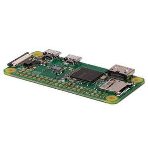 Carte de Développement Raspberry Pi Zero W pour Ambilight DIY / Domotique / Robotique / Jeux / Multimédia - WiFi 802.11b/g/n + Bluetooth 4.1
