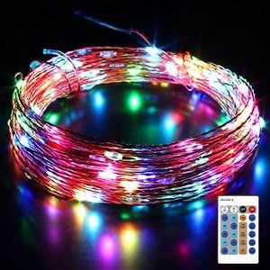 Guirlande lumineuse RGB Aukey - 10 m, avec télécommande (vendeur tiers)