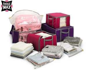 Lot de sacs de rangement sous-vide + accessoires