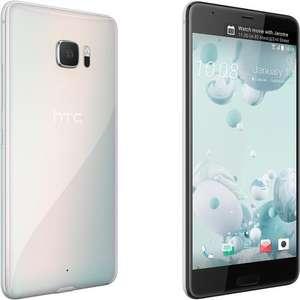 """Smartphone écran principal 5.7"""" + second écran de 2"""" - HTC U Ultra Blanc - 64Go, 4Go, Android 7.0, Snapdragon 821"""