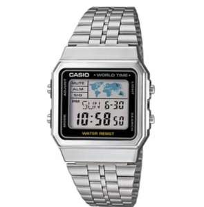 Montre homme Casio A500WEA-1EF - Argent