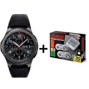 [Cdiscount à Volonté] Pack montre connectée Samsung Gear S3 Frontier + console Nintendo Mini SNES (via ODR de 50€)