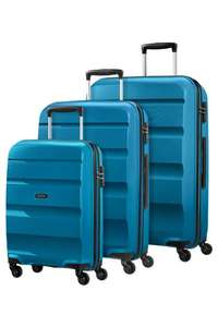 Set de 3 Valises American Tourister en Polypropylène - Bleu