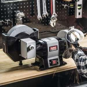 Touret à meuler Duro - 400W - avec meule à eau