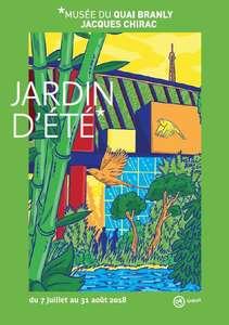 Activités gratuites à l'occasion du Jardin d'été 2018 (Paris 75)