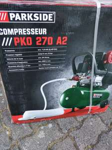Compresseur Parkside PKO 270 A2 - 8 bar, 24 L (Hochfelden - 67)