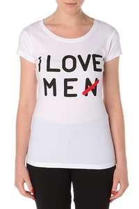 70% de réduction sur tout l'outlet - Ex: T-shirt I Love Me(n)