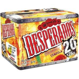 Sélection de bières en promotion - Ex : Pack de 20 bouteilles de Bière aromatisée Téquila Desperados (20 x 25 cl)
