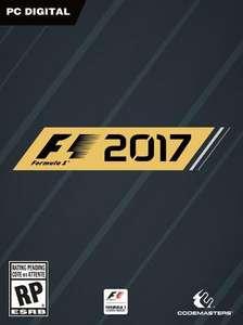 Jeu F1 2017 sur PC (Dématérialisé, Steam frais inclus)
