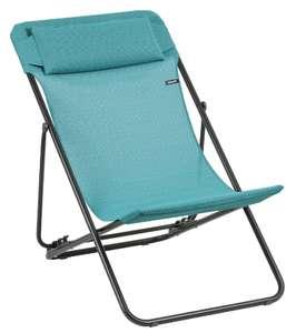 Chaise longue Lafuma Maxi Transat Plus Batyline Duo - différents coloris