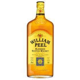 Bouteille de whisky William peel - 100cl (40% d'alcool)