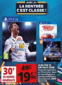Sélection de jeux en Promotion sur Xbox One & PS4 - Ex: Need for speed Payback