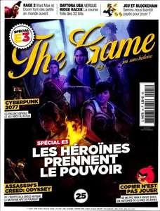 Abonnement au magazine papier The Game - 1 An (6 numéros)