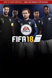 Jeu Fifa 18 sur Xbox One (Dématérialisé)