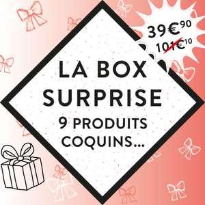 Box surprise Passage du désir : 9 produits