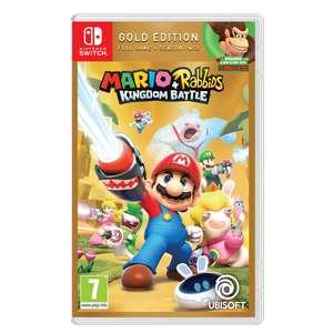 Mario + Lapin Crétins The Kingdom Battle Gold Edition sur Nintendo Switch