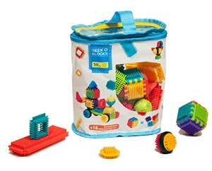 [Prime] Set de jeu de construction Seek'o Blocks - 50 pièces