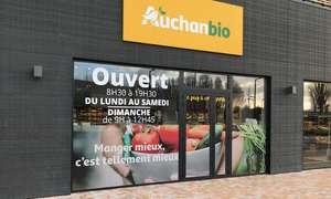Bon d'achat d'une valeur de 10€, 20€ ou 30€ à valoir sur tout le magasin Auchan Bio dès 5€ - Marquette-lez-lille (59)