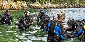 Baptêmes Gratuits de Plongées Sous Marine et Randonnées Subaquatiques en Mer (Anse du Dellec) - Plouzané (29)