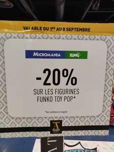 20% de réduction sur les figurines Funko Toy Pop - Glisy (80)