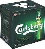 Pack de 12 bières Carlsberg - 12 x 25CL