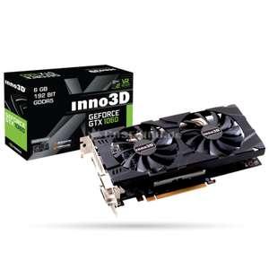 Carte graphique Inno3D GeForce GTX 1060 6Go Twin X2
