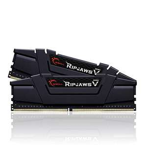 Kit mémoire RAM G.Skill Ripjaws V - 16 Go (2 x 8 Go) - 3200 Mhz CL16, DDR4