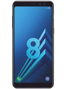 """Smartphone 5.6"""" Samsung Galaxy A8 (2018) - Full HD+, RAM 4 Go, ROM 32 Go, Noir ou Orchidée (via ODR de 70€)"""