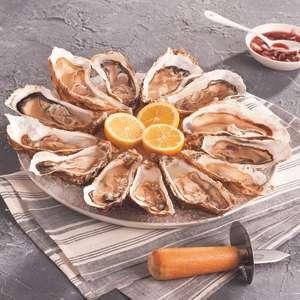 Bourriche de 2 Kg d'Huîtres longues (via 9.73€ sur la carte de fidélité)
