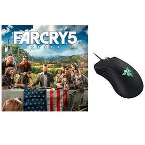 Far Cry 5 sur PC (Dématérialisé - Uplay) + Souris Razer Deathadder Essential