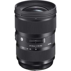 Objectif Sigma 24-35mm F2 DG HSM Art  - monture Nikon, plein format (vendeur tiers - Webdistrib)