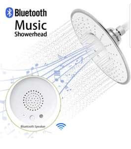 Pommeau de douche connecté - Musique, Enceinte Bluetooth, IP64 (vendeur tiers)