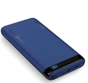 Batterie externe Omars - 10000mAh, Compatible QC 3.0 (Vendeur tiers)