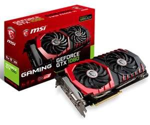 Carte graphique MSI GeForce GTX 1080 Gaming 8G