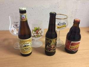 Lot de 3 Bières : Karmeliet 33CL + Cuvée des Trolls 33CL + Kasteel rouge 33CL + 3 Verres (Lambersart 59)
