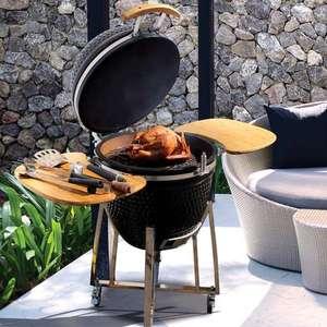 Barbecue kamado en céramique hauteur totale - 130cm