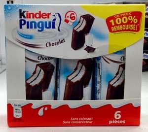 1 Produit de la gamme Kinder Pingui 100% remboursé (via ODR)
