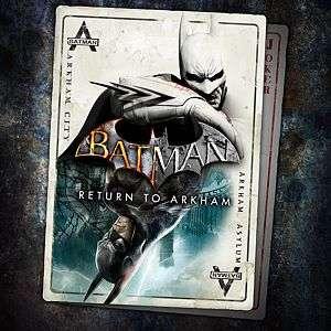 Batman: Arkham Asylum + Arkham City sur PS4 (Dématérialisés)