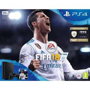 [Carte Fidélité] 50% crédités sur la Cagnotte sur une sélection de Consoles - Ex : PS4 (500Go) + FIFA 18 (Via 169.98€ sur la Carte Fidélité)