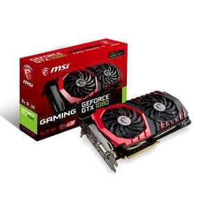 Carte graphique MSI GeForce GTX 1080 Gaming 8G GDDR5X (Via l'Application Mobile)