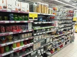 Sélection de vaisselles et accesoires de décoration à 50% de réduction - Super U Colombelles (14)