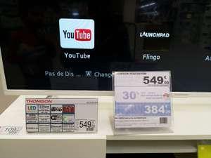 """TV 55"""" Thomson 55UC6416W - 4K UHD, LED VA, HDR10, 10 bits (via 164,70€ sur la carte fidélité) - Chauconin-Neufmontiers (77)"""