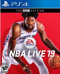 Jeu NBA LIVE 19 The One Edition PS4 ou Xbox One