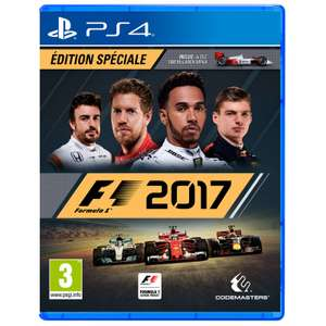 Jeu F1 2017 sur PS4 - Edition spéciale avec Steelbook