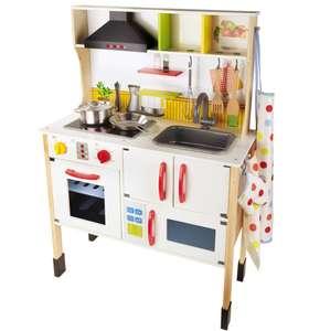 Cuisine en Bois PlayTive Junior pour Enfants - 70 x 97 x 30cm