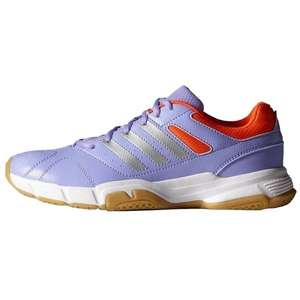 Paire de chaussures adidas Indoor Quickforce 3 - Violet, Tailles 40, 40 2/3 et 41 1/3